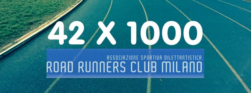 42x1000 con i Road Runners Milano