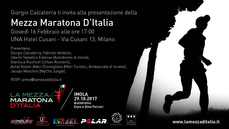 Conferenza stampa La Mezza d'Italia con Giorgio Calcaterra