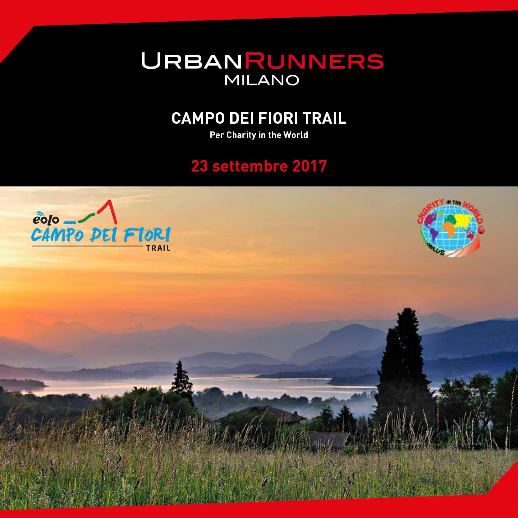 Campo dei Fiori Trail per Charity in the World
