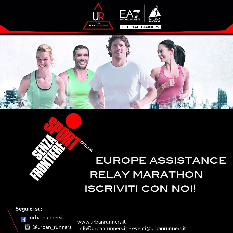Europe Assistance Relay Marathon con Sport Senza Frontiere